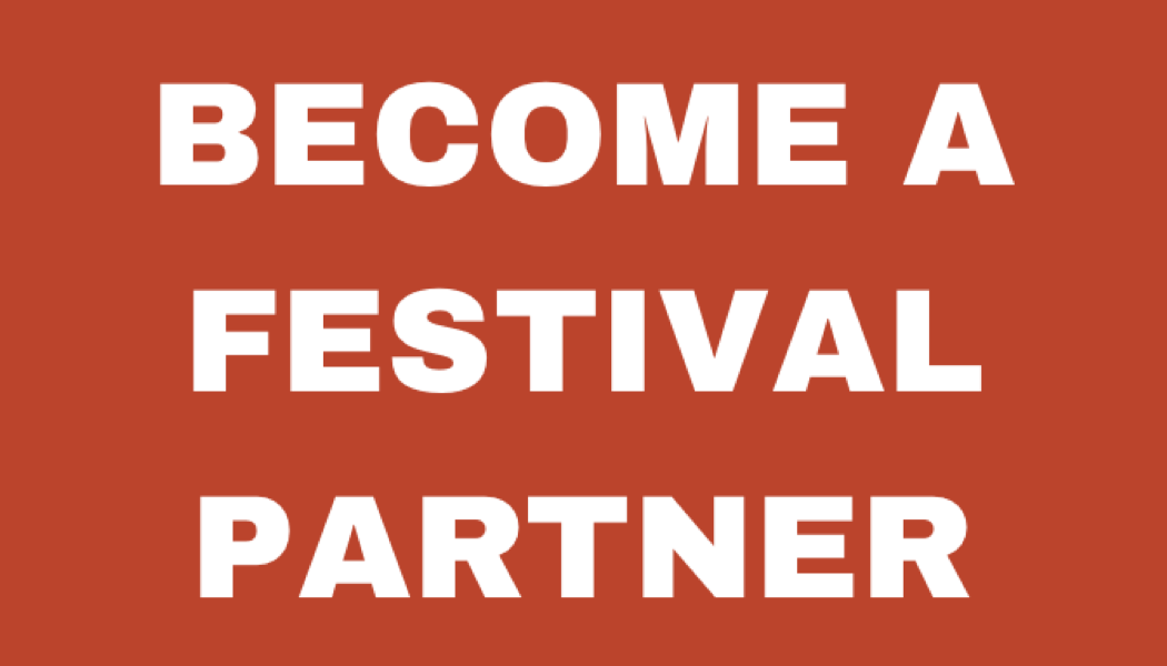 Click here for 'Become a festival partner'